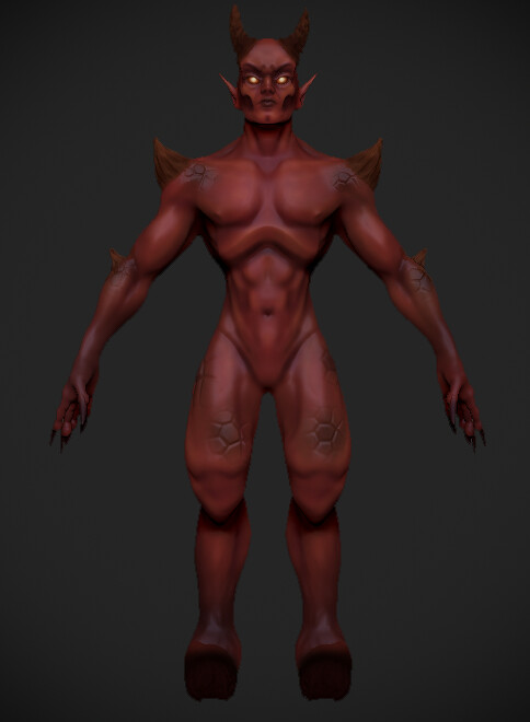 Stylized Demon