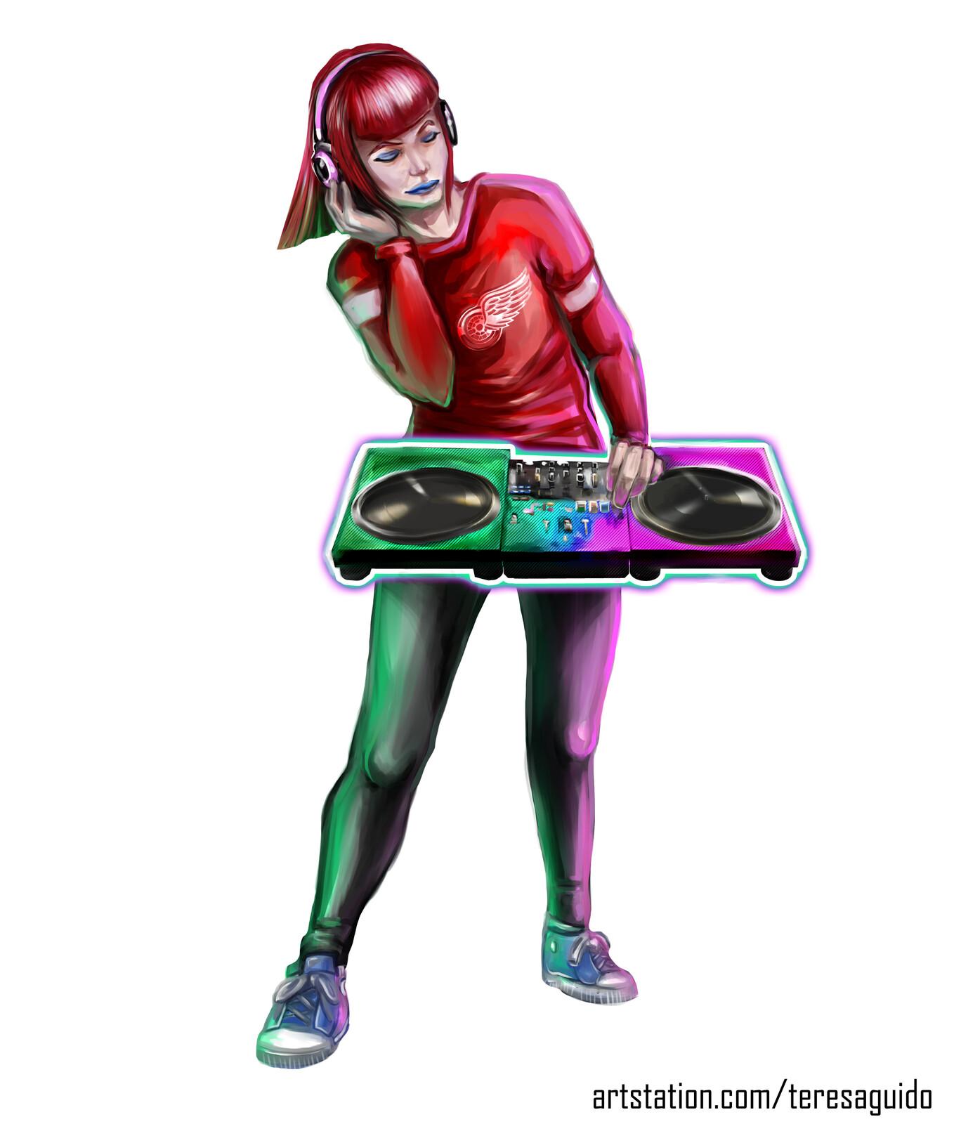 Turntable Girl