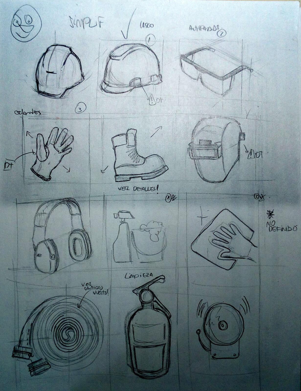 signals sketches