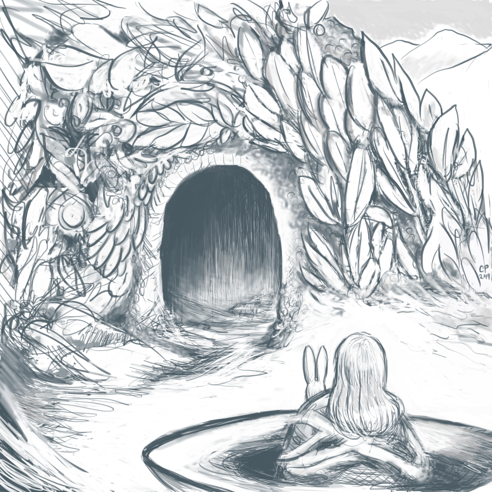 4 Cave Entrance