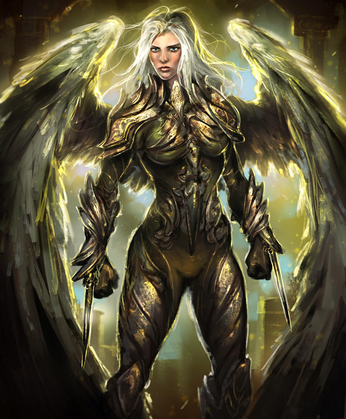 Rogue Angel--Arcane Gladiator TCG