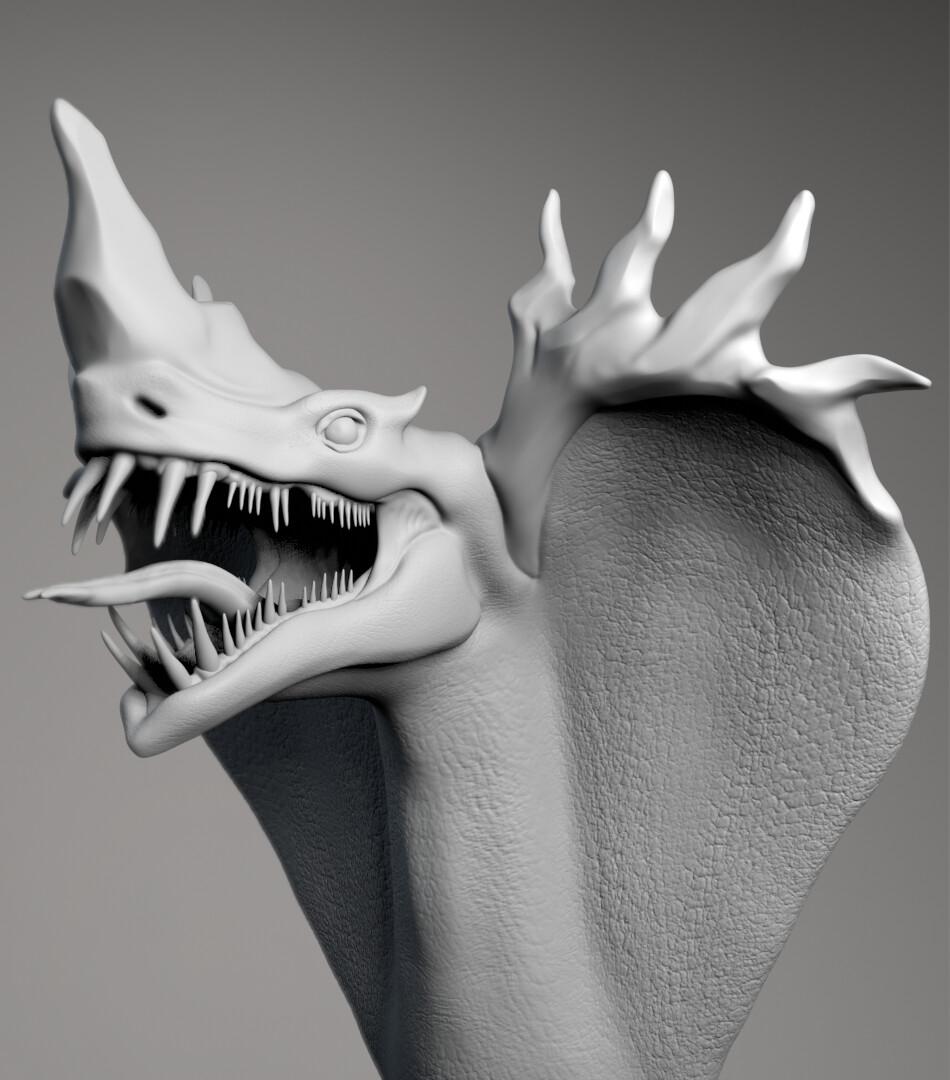 Naga Dragon WIP