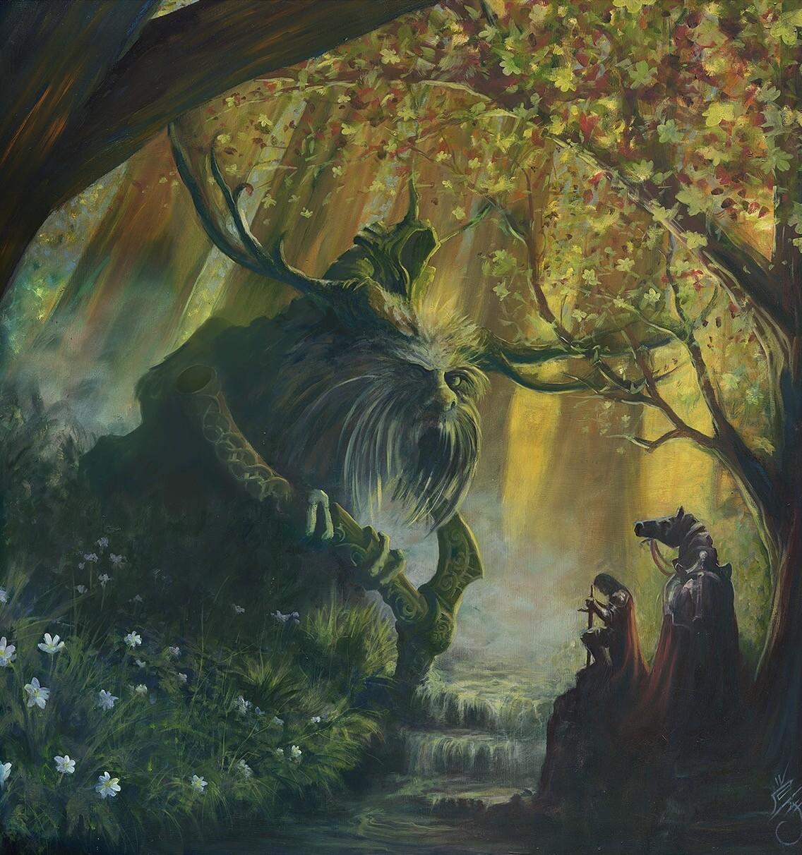 Gawain at The Green Chapel