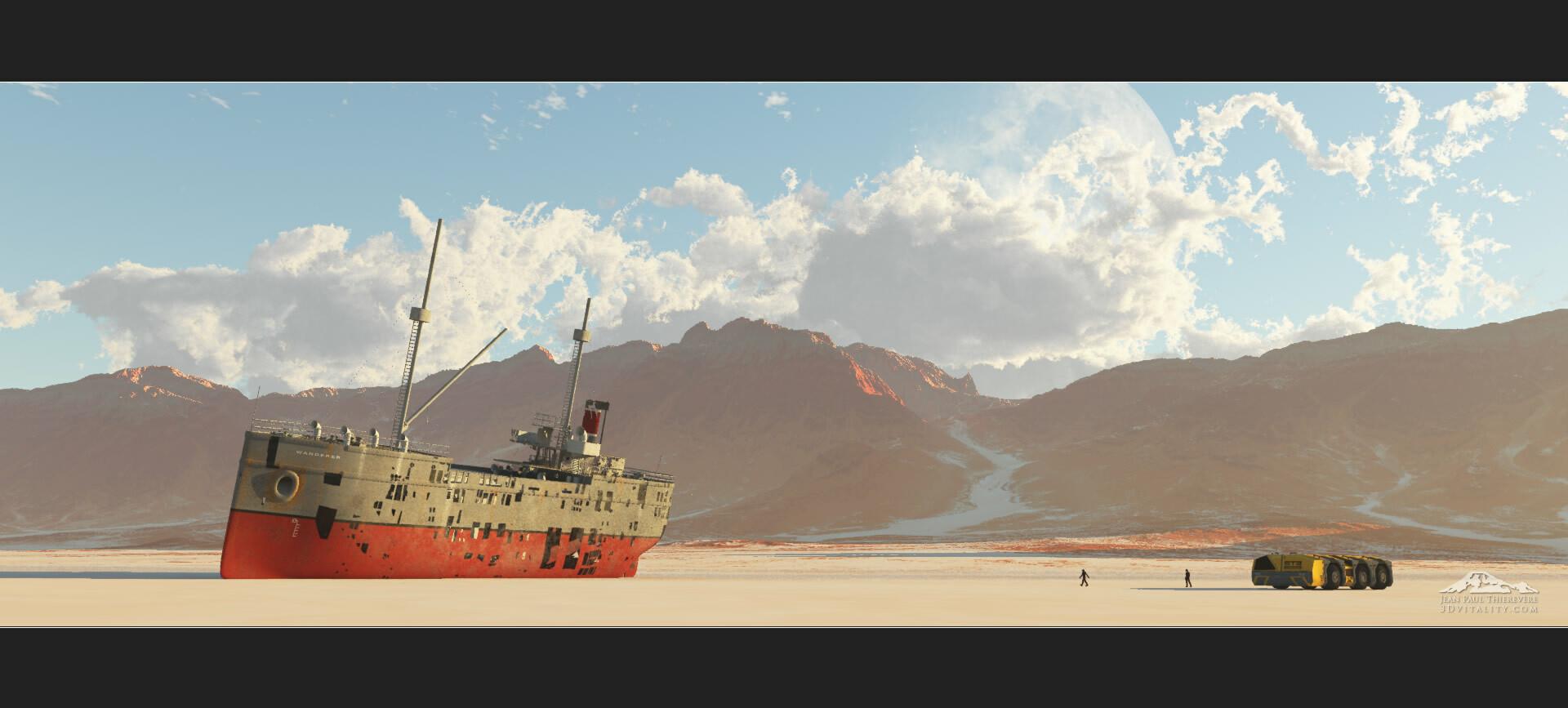 original render, only frame and logo added