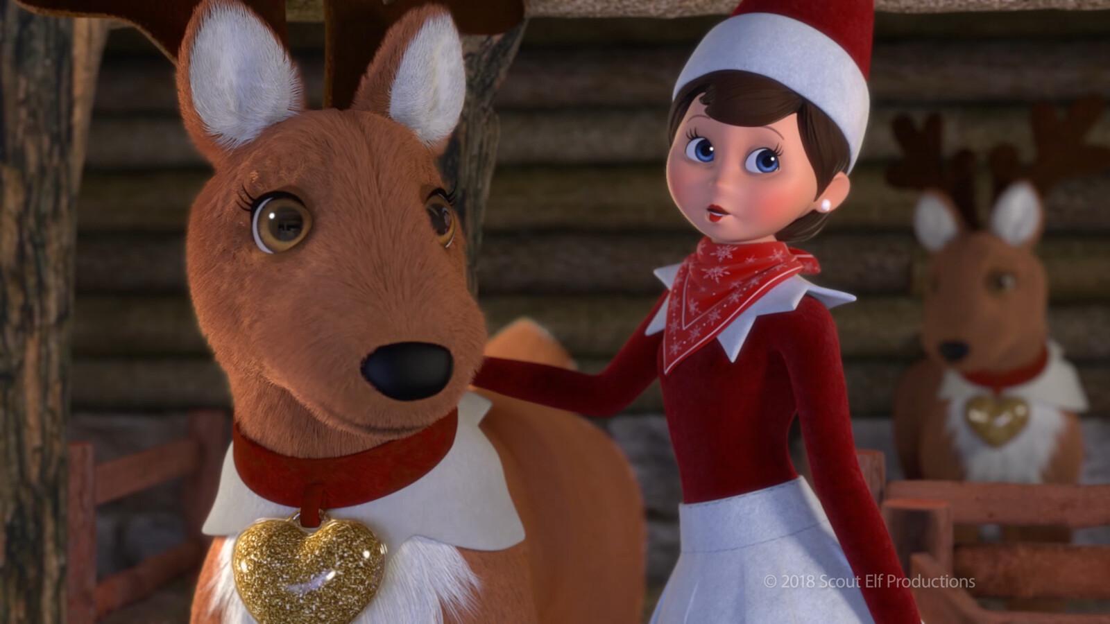 from Elf Pets: Santa's St. Bernards Save Christmas (2018)