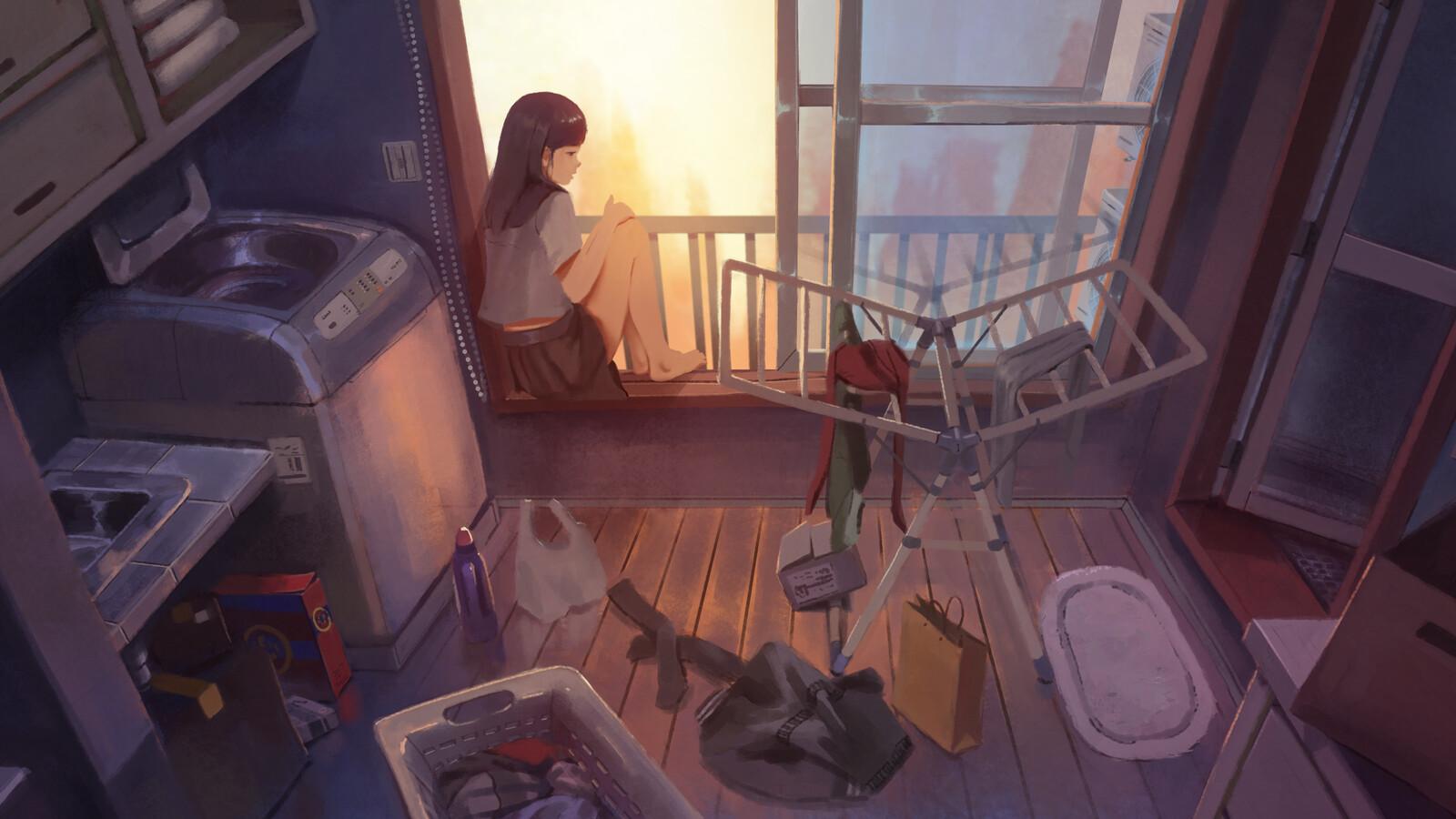 Anime Background Lo-fi