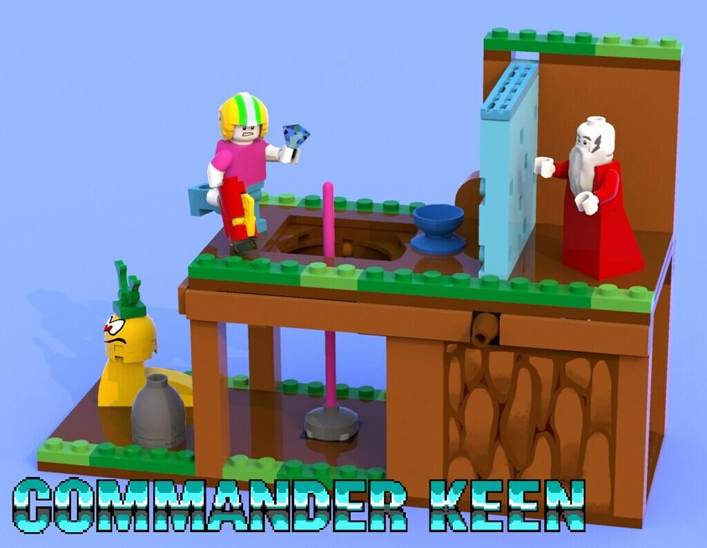 Commander Keen Playset