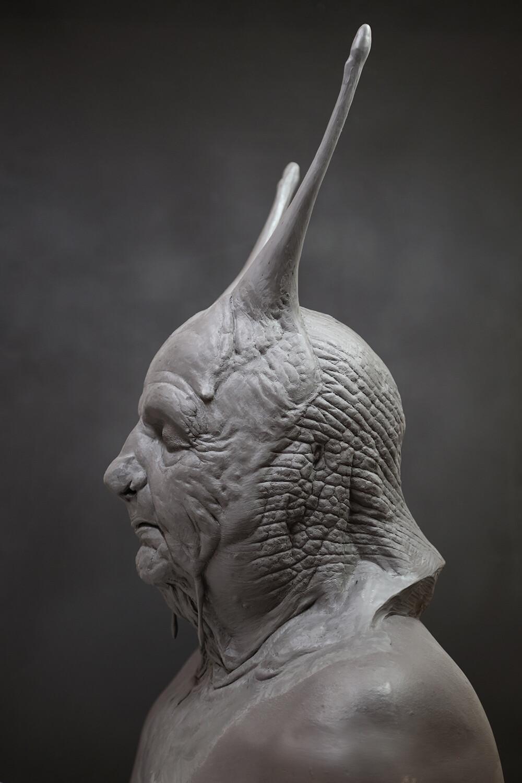 Pinocchio 2018 / Snail Concept Sculpt