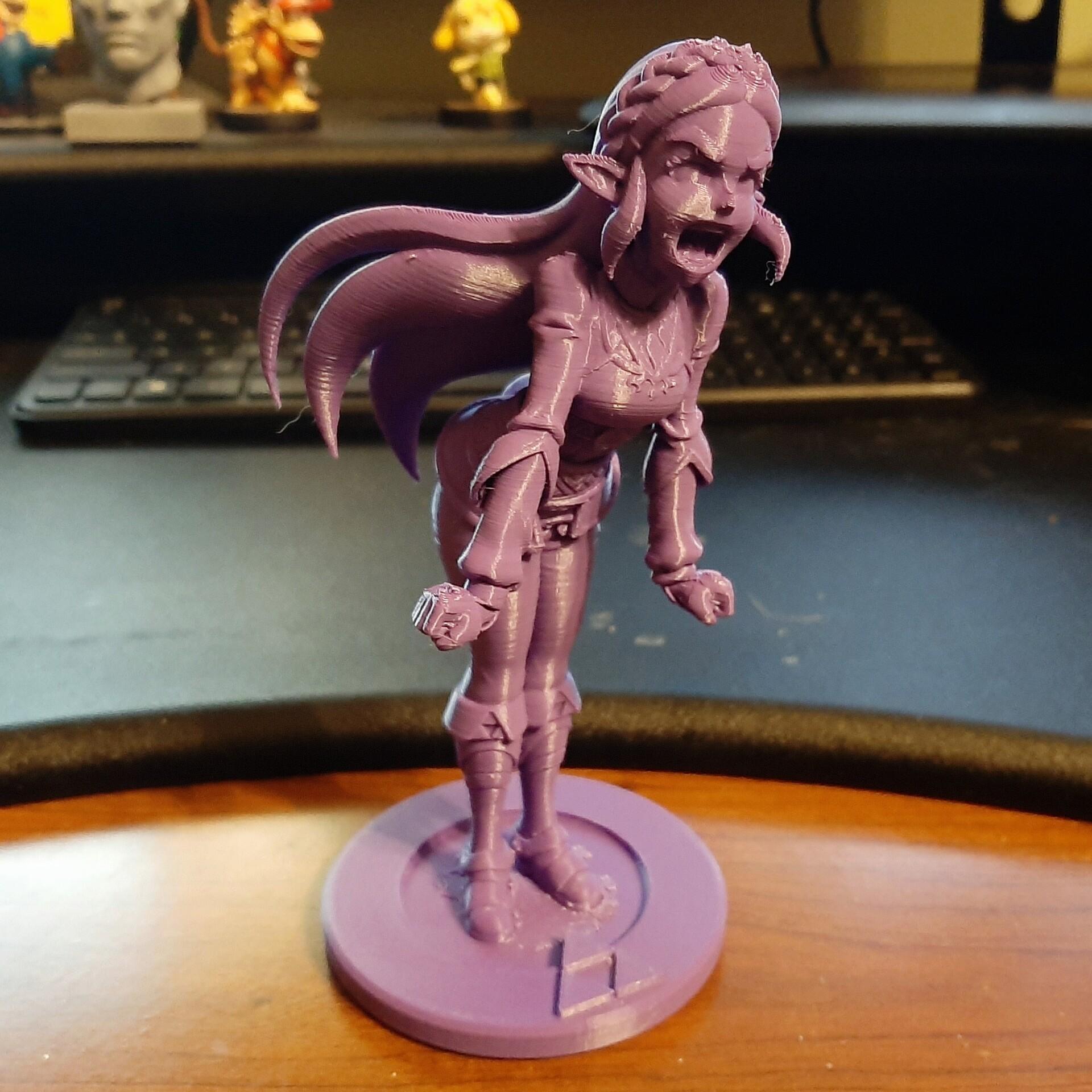 3D Print of Zelda