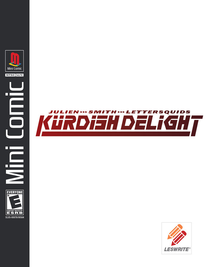 Kurdish Delight (Cover Design)