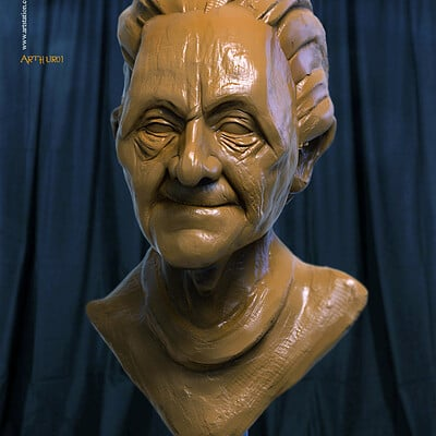 Surajit sen arthur01 digital sculptor shrajitsen feb2020s