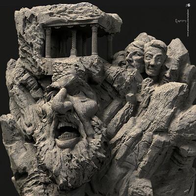 Surajit sen entity digital sculpture surajitsen fe2020