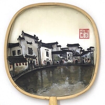 Chinese Traditional Painting - Hometown