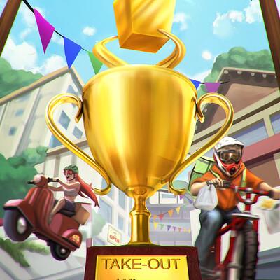 Fabian parente take out winner final2