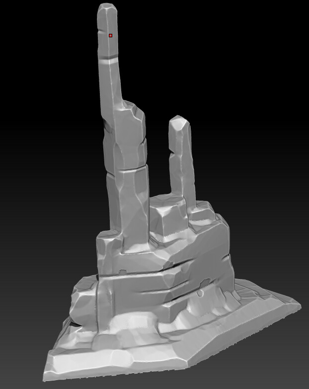cliff sculpt