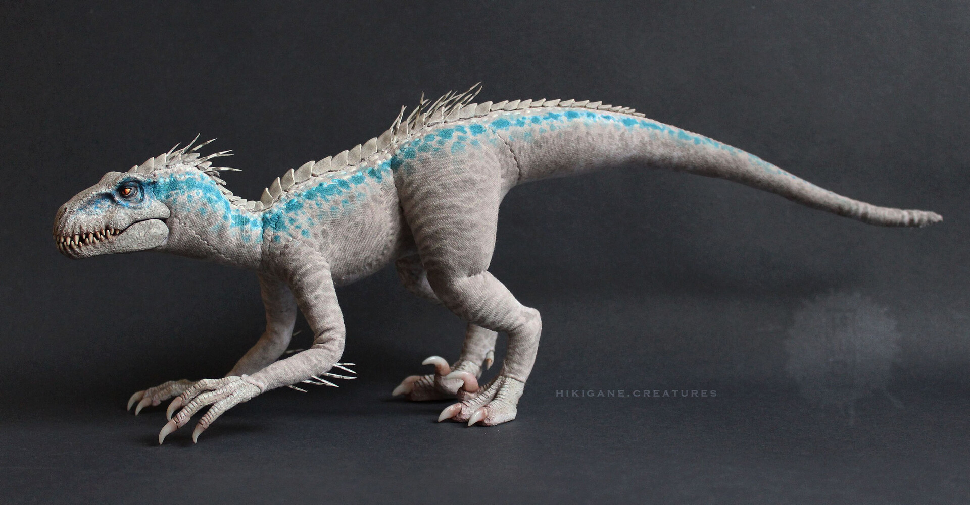 Artstation Indoraptor Gen 2 Poseable Soft Sculpture Boglarka Zilahi Hikigane