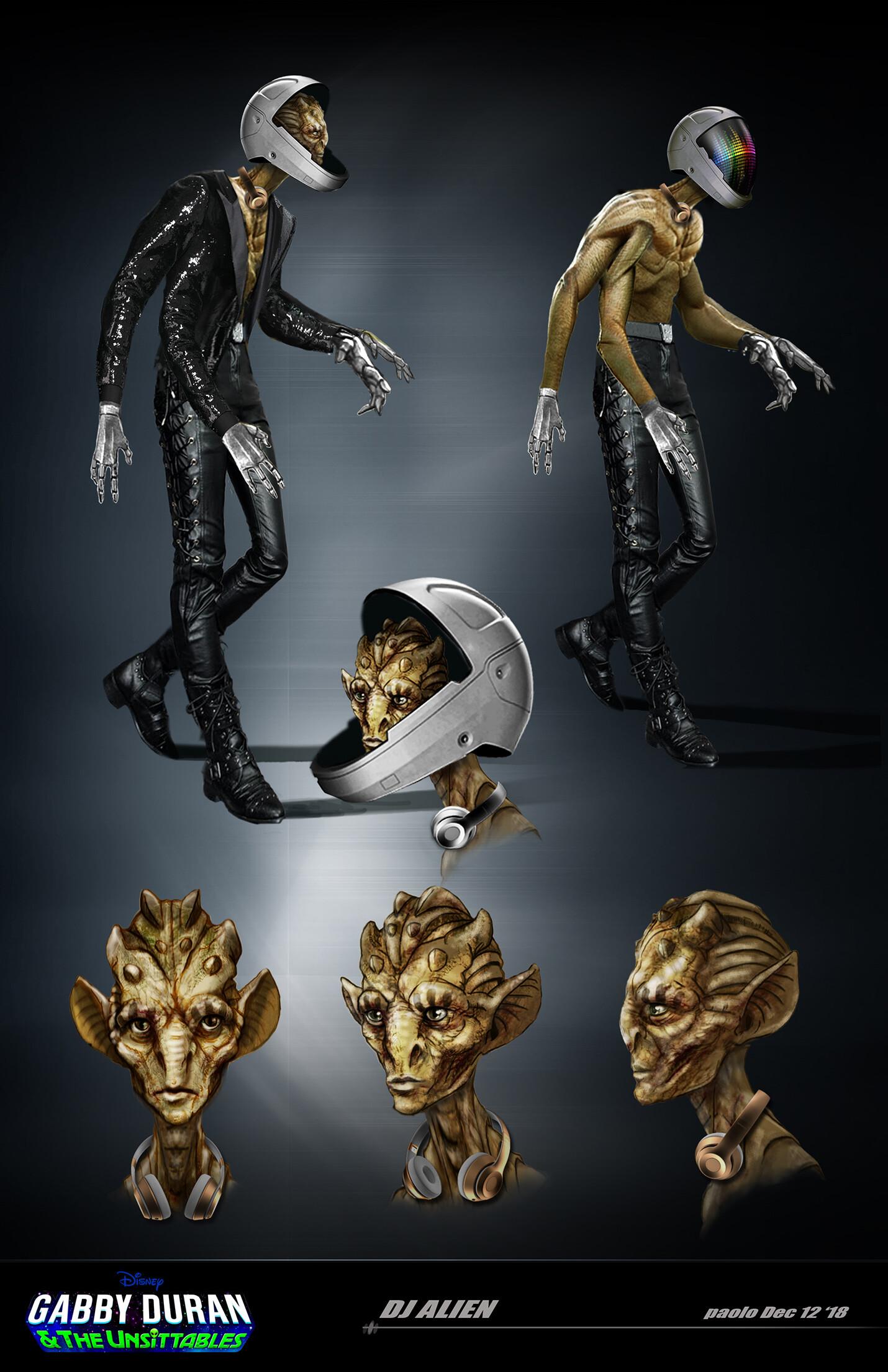Alien DJ / Gabby Duran