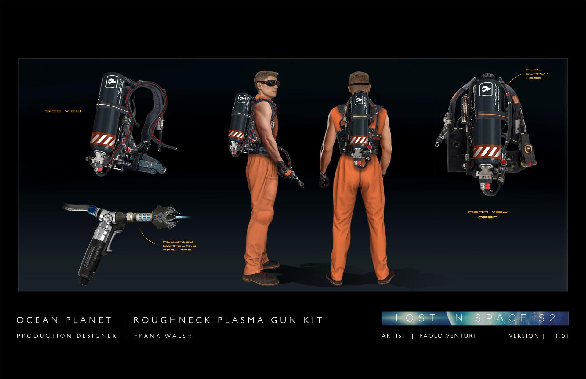 Plasma Cutter's Gear / Lost in Space Season 2
