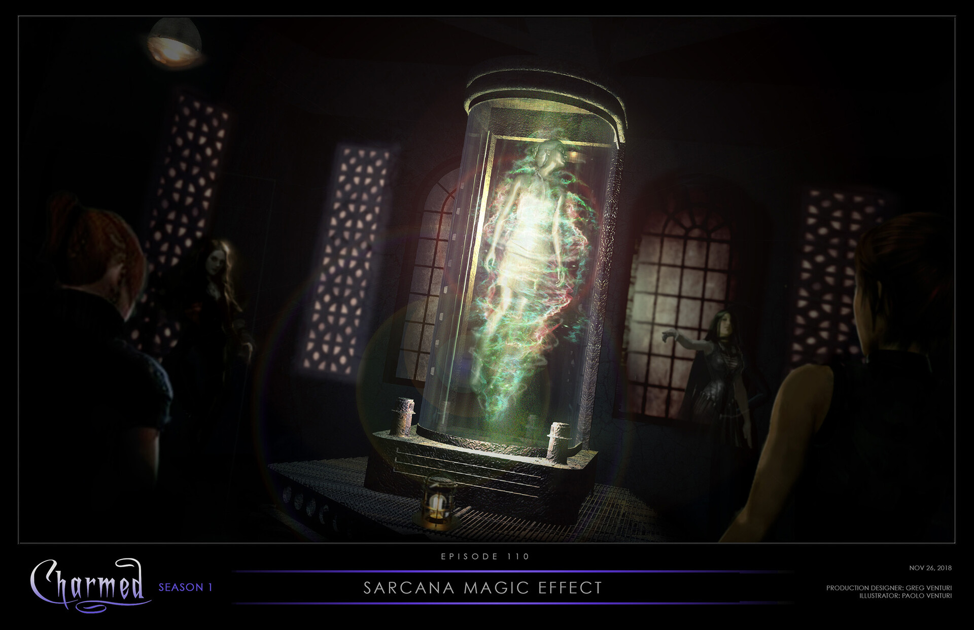 Sarcana Chamber / Charmed Season 1
