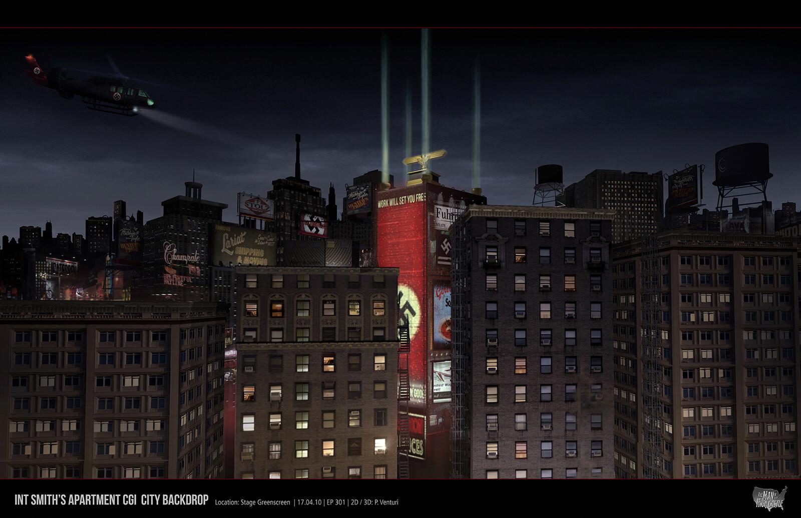 Window View / Man in the High Castle Season 2