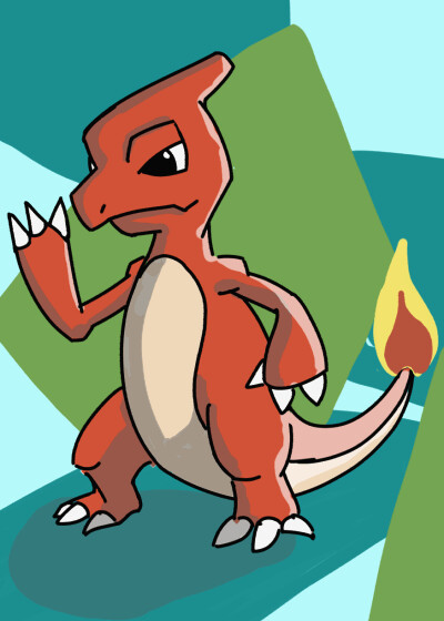 *Fan Art* Charmeleon