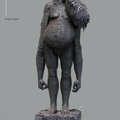 Surajit sen overloaded digital sculpture surajitsen march2020