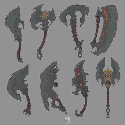 Darksiders Weapons / fan concepts