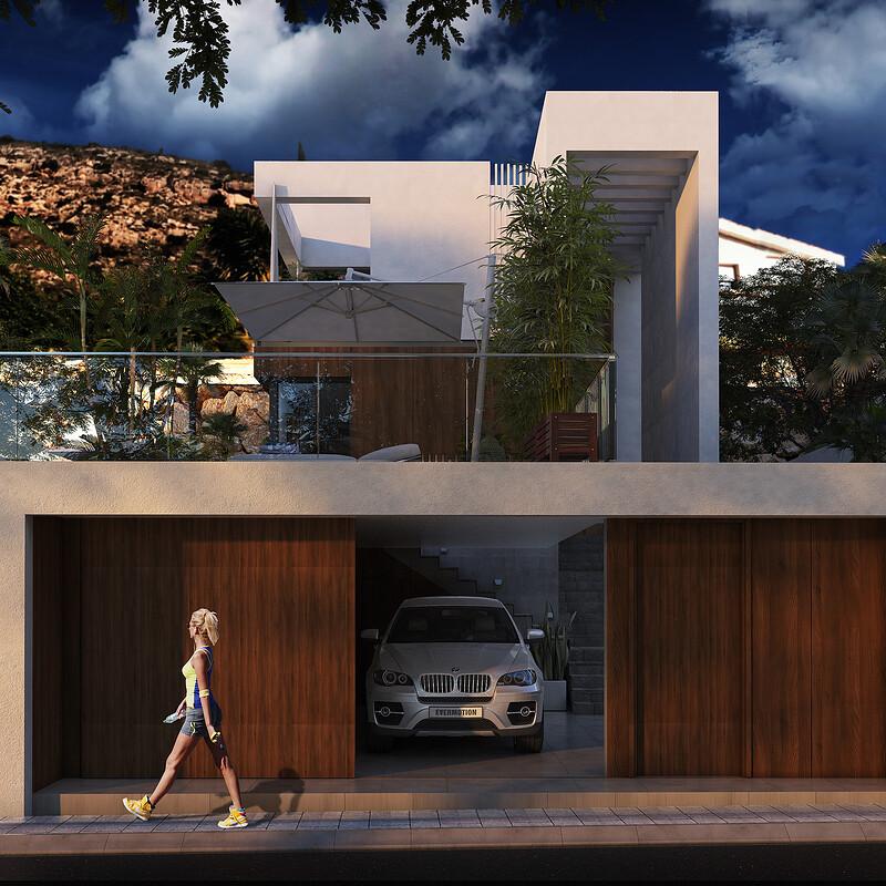 3D FINESTRAT HOUSE