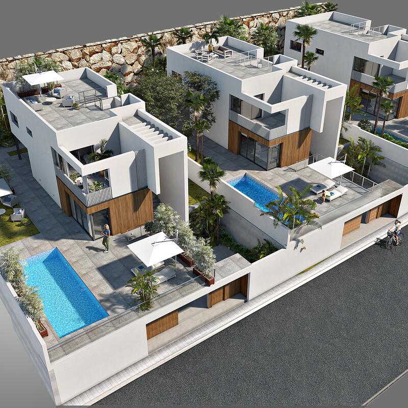 3D FINESTRAT HOUSE MASTER