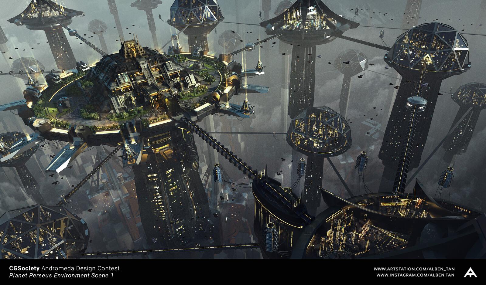 CGSociety Andromeda Environment Design Entry