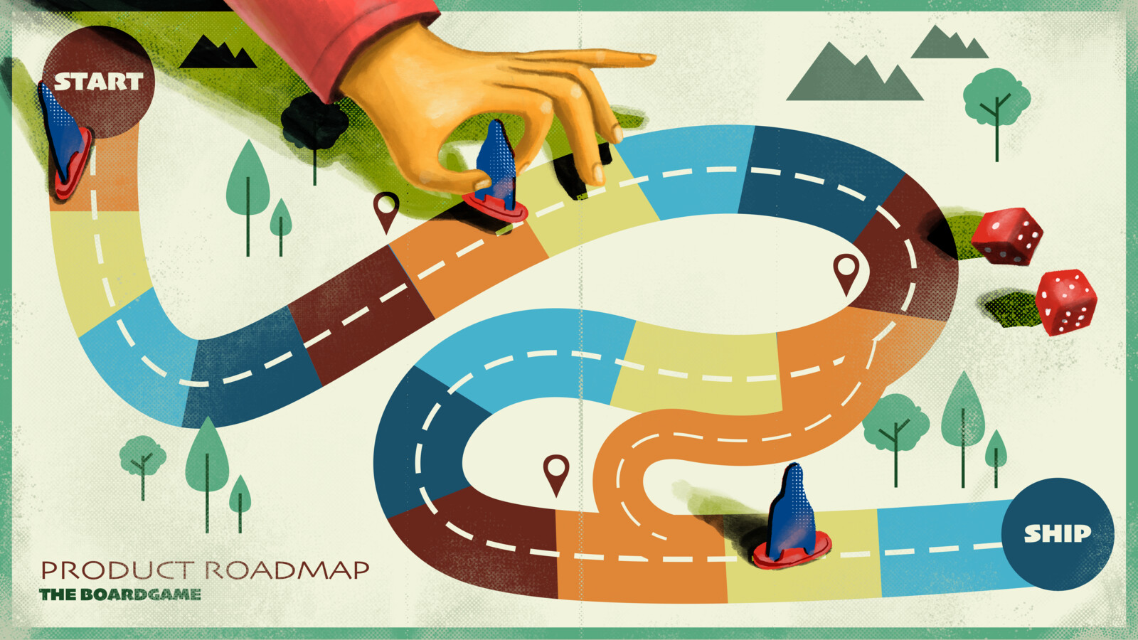Product Roadmap the Board Game