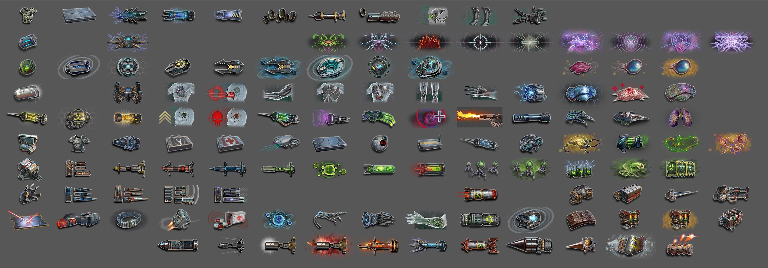 Mod Items