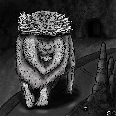 Colin le sueur stone lion