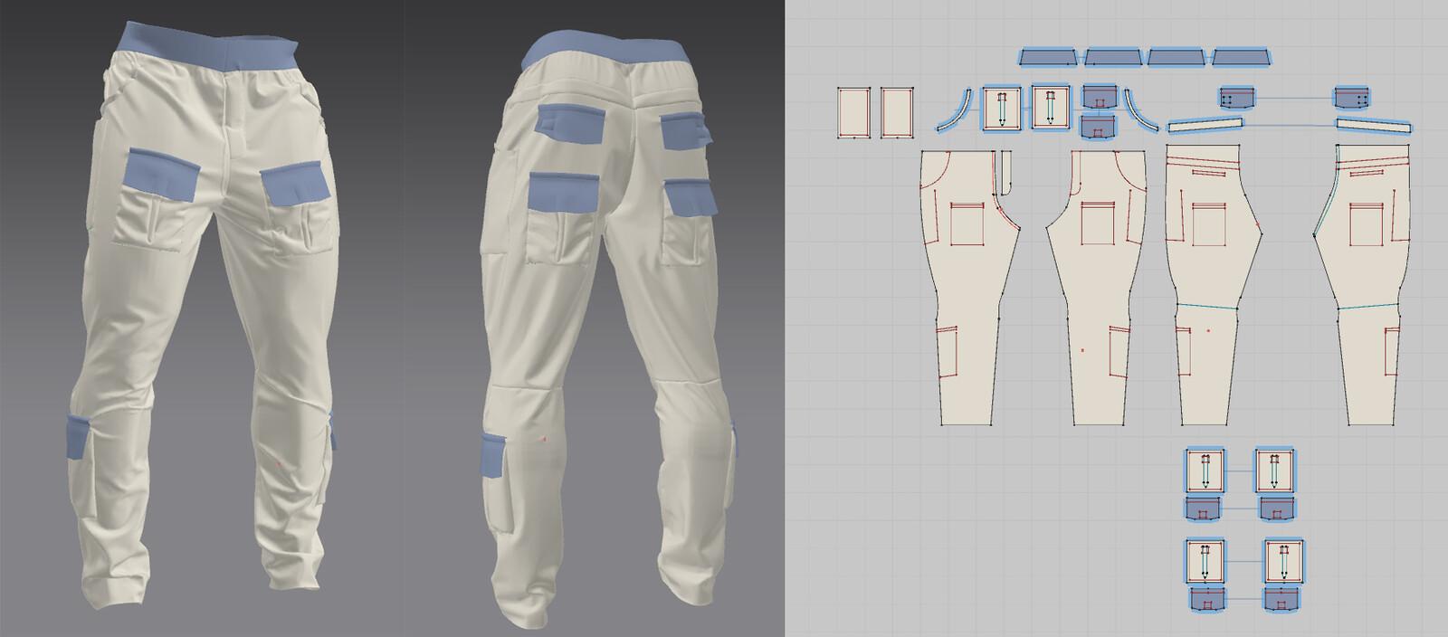 Marvelous designer garments