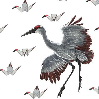 Julian weiler cranes w signature