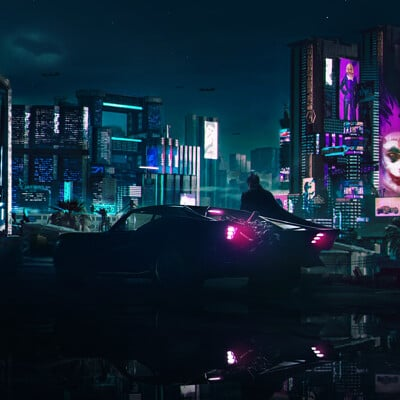 Mizuri official cyberpunkbatmanmashup