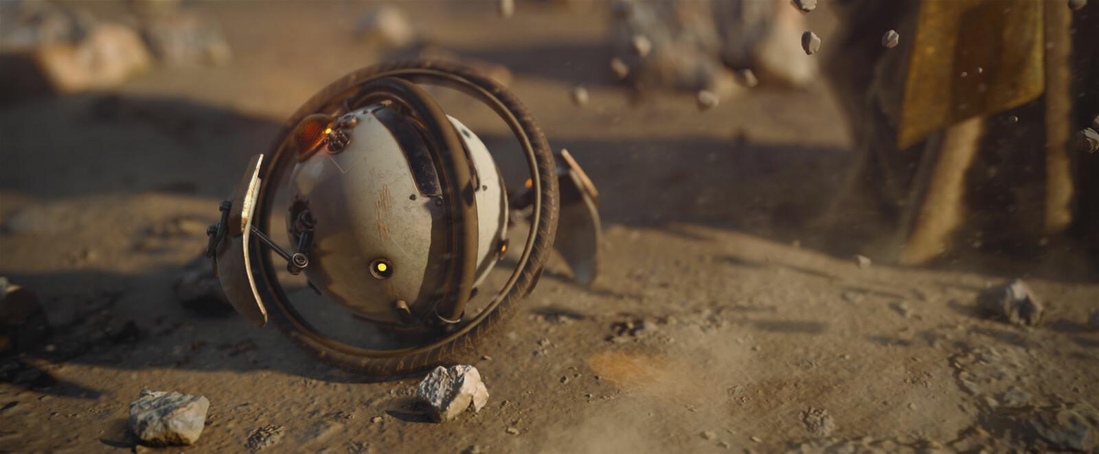 Thaumaturge Droid closeup Dusk