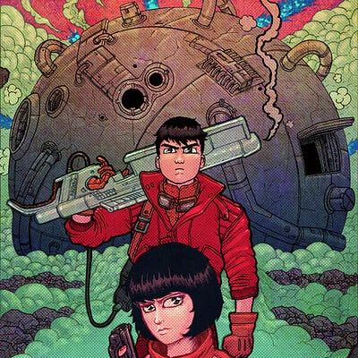 Buster moody akira commission colors