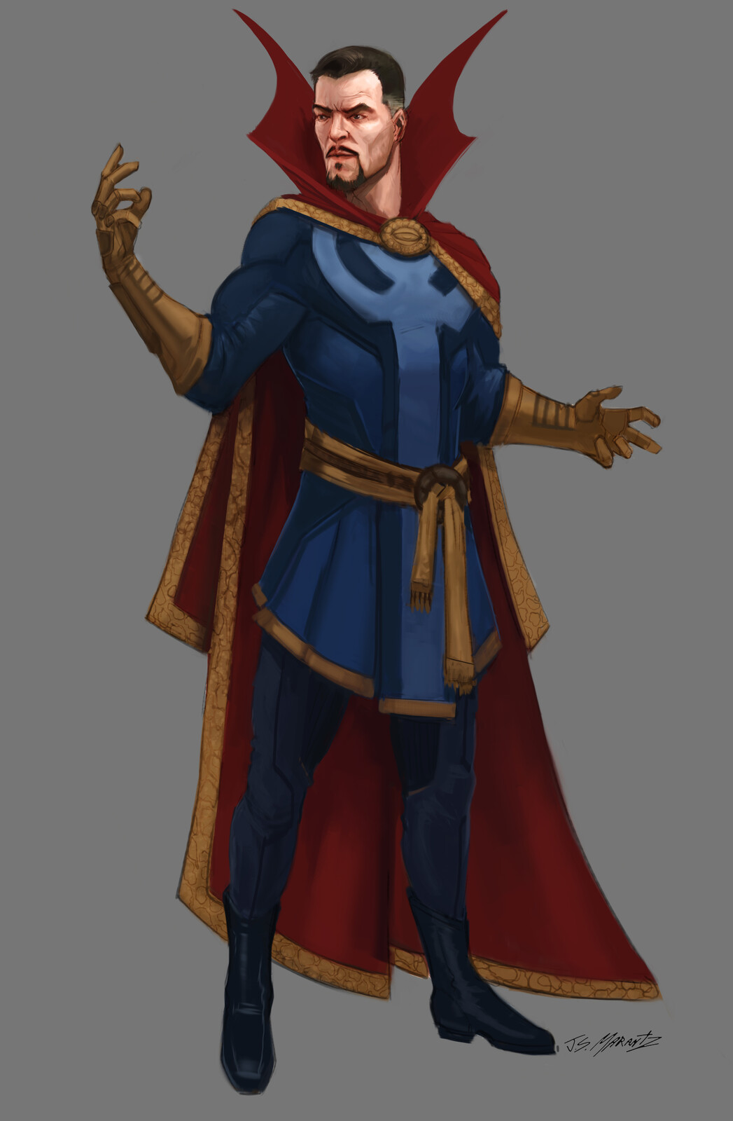 Doctor Strange Designs for Cancelled Project