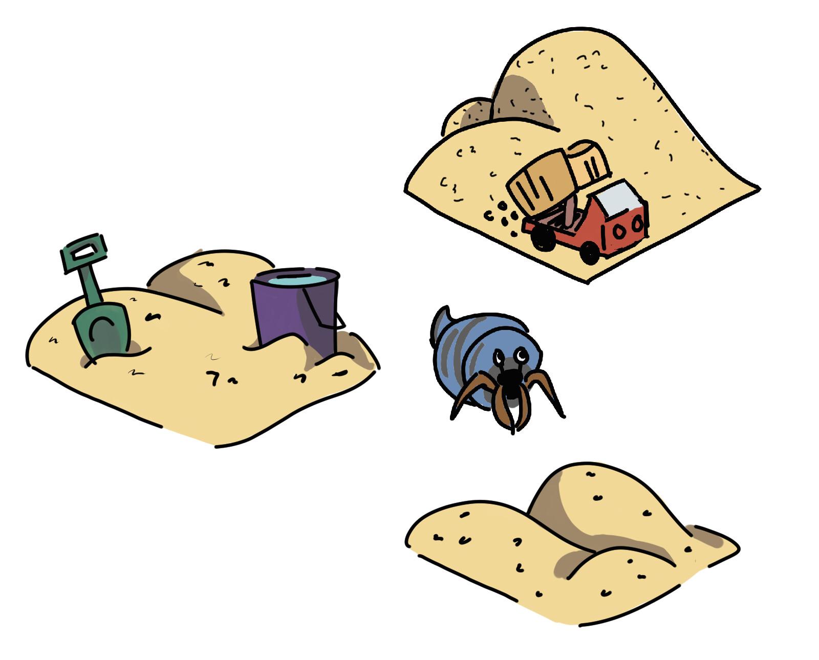 Beach Day Studios Sand Deposit Upgrade