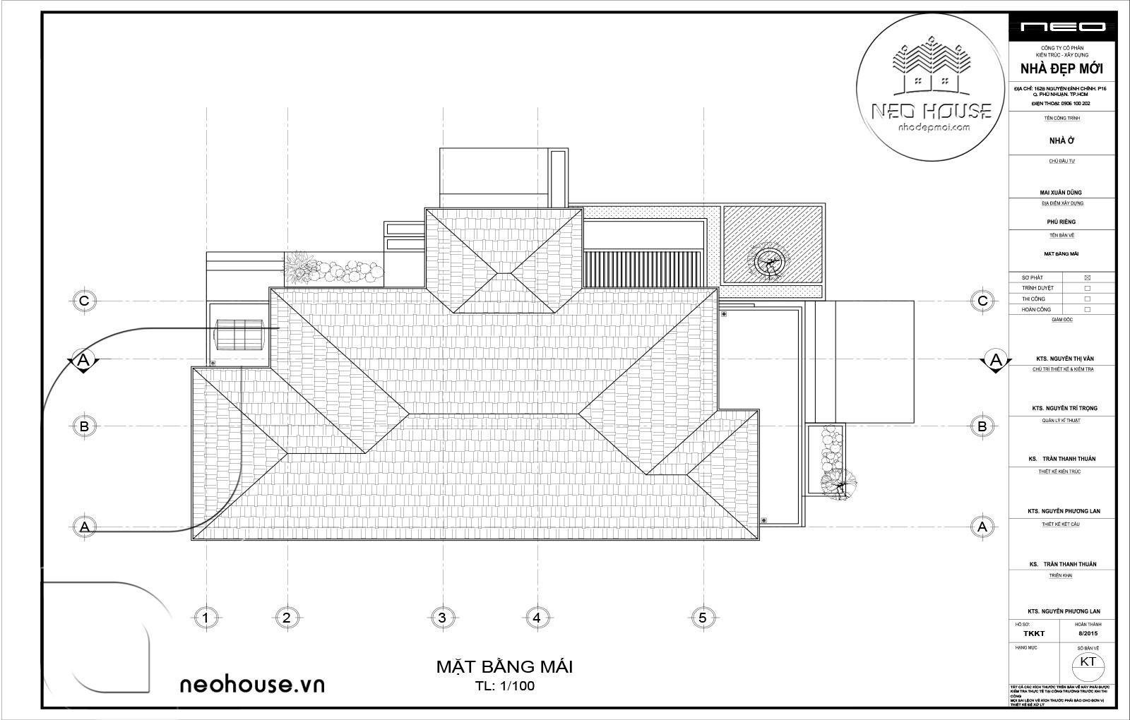 Thiết kế biệt thự vườn 1 tầng. Ảnh 5