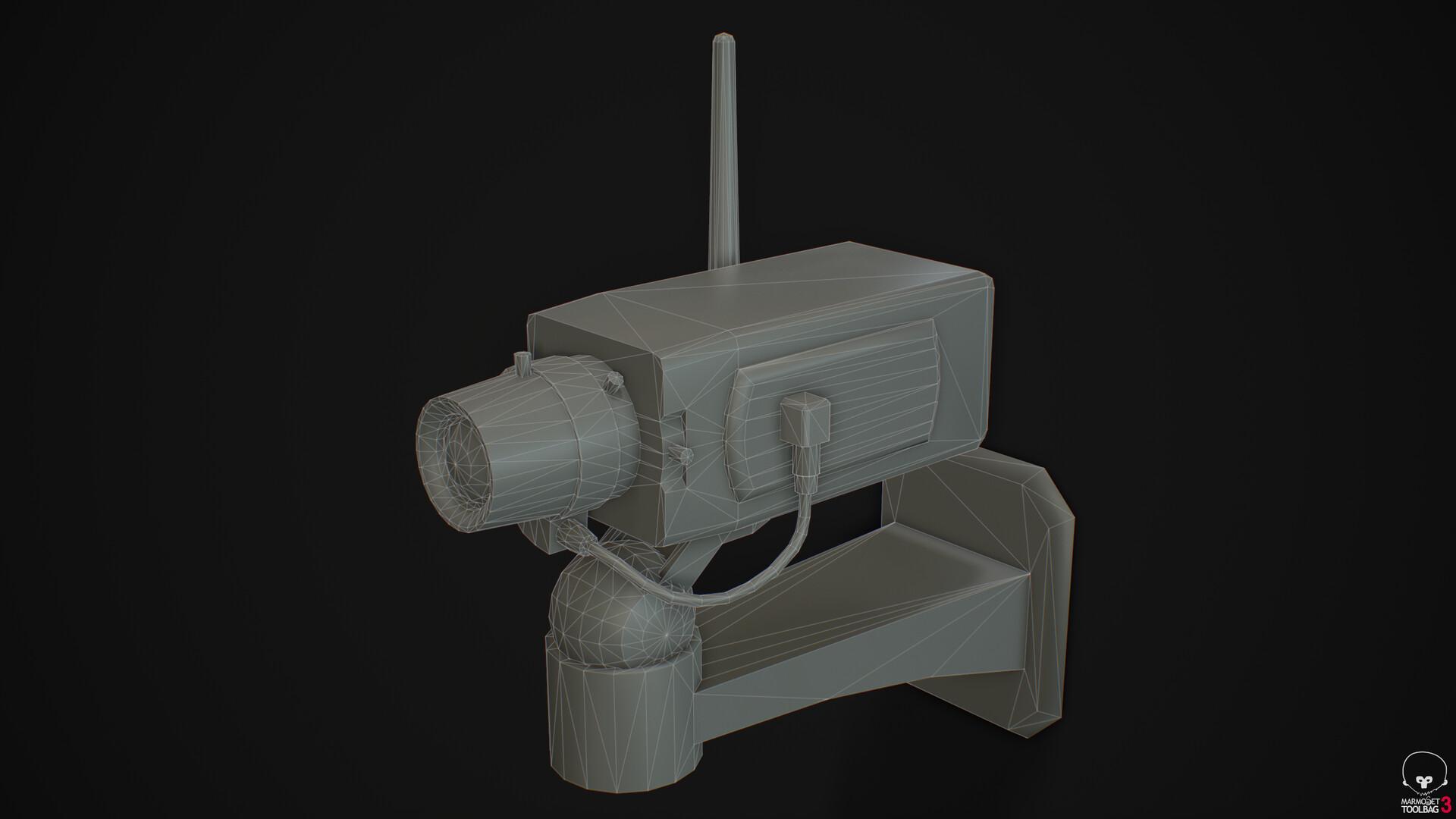 Camera A - Wireframe
