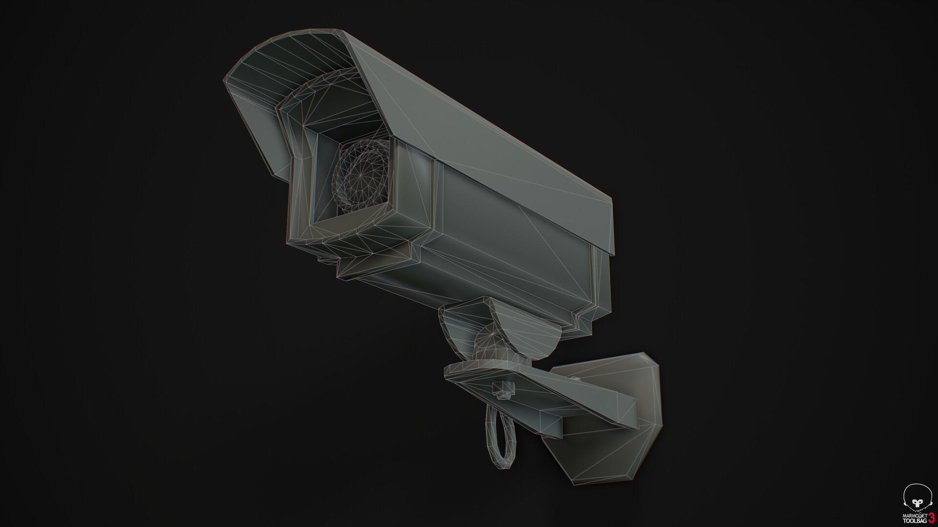 Camera B - Wireframe