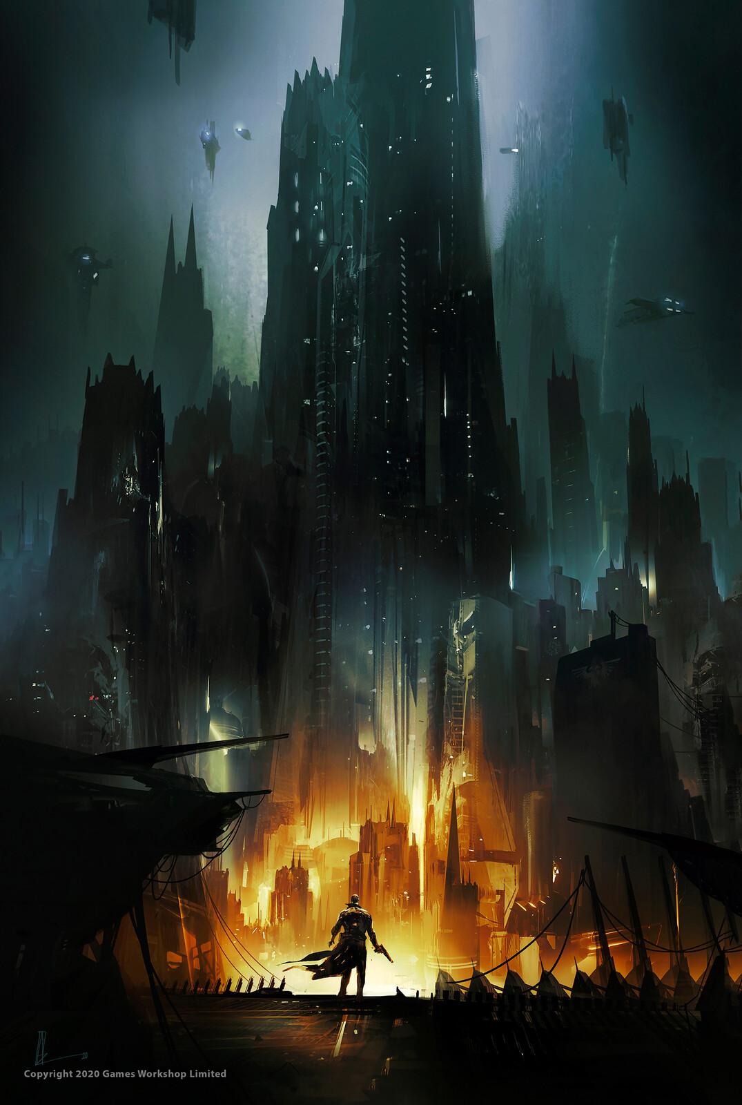 WARHAMMER 40,000 / BLOODLINES : Book Cover