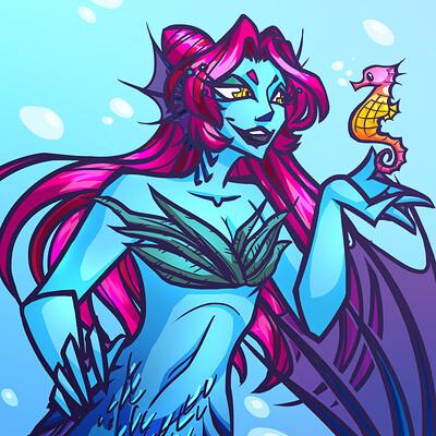 Android priest mermaid