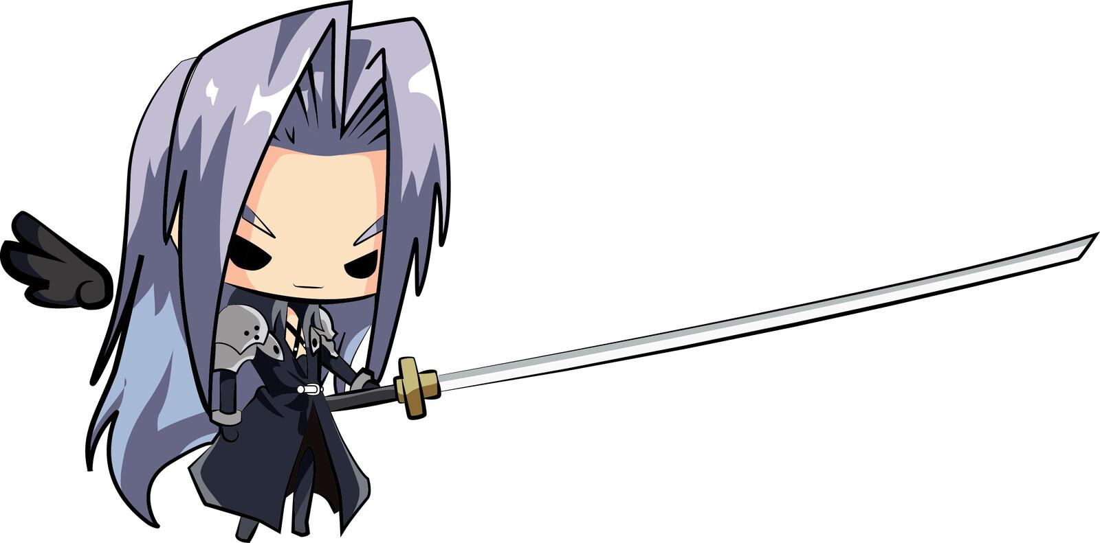 Sephiroth Chibi version