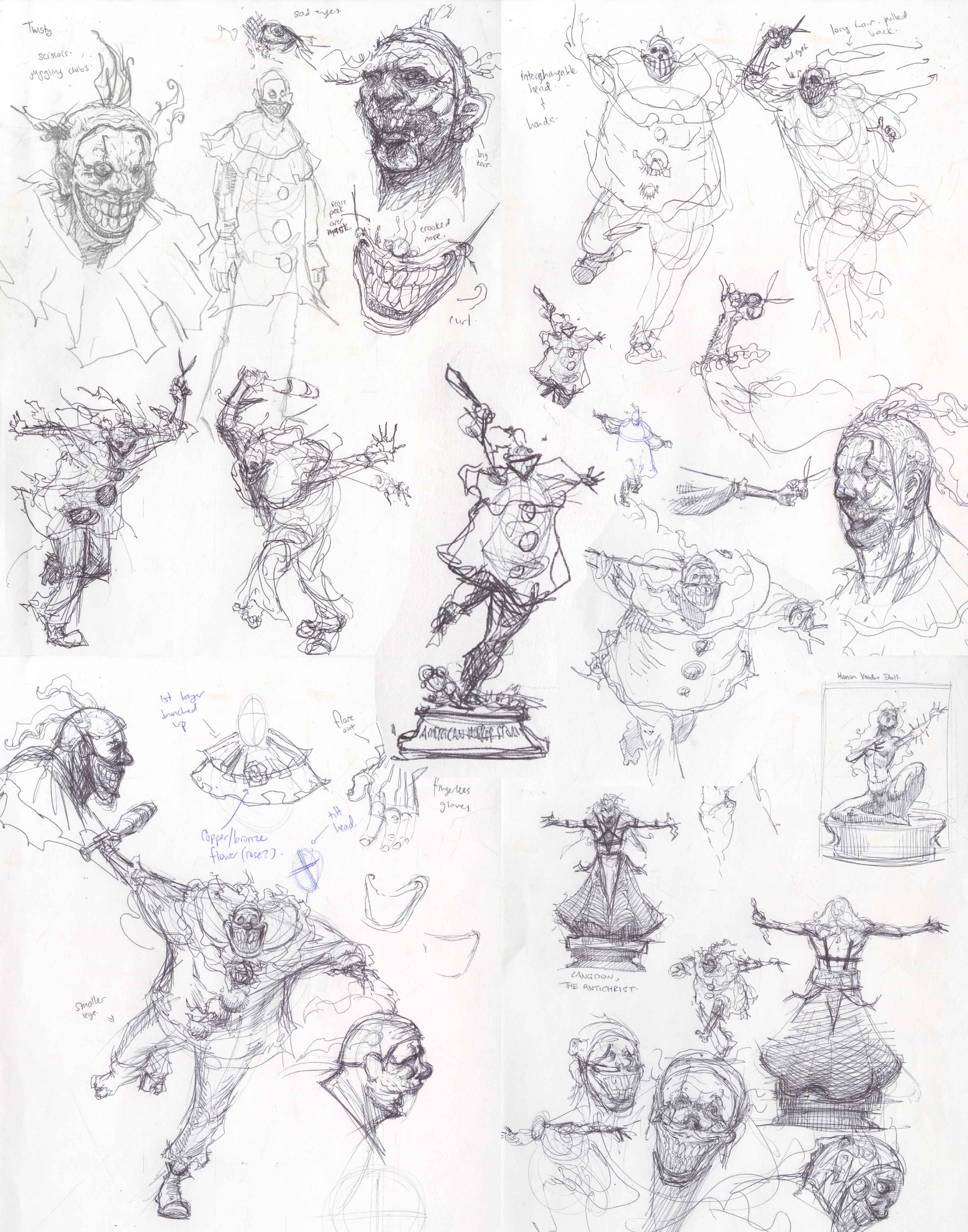 Sketches!
