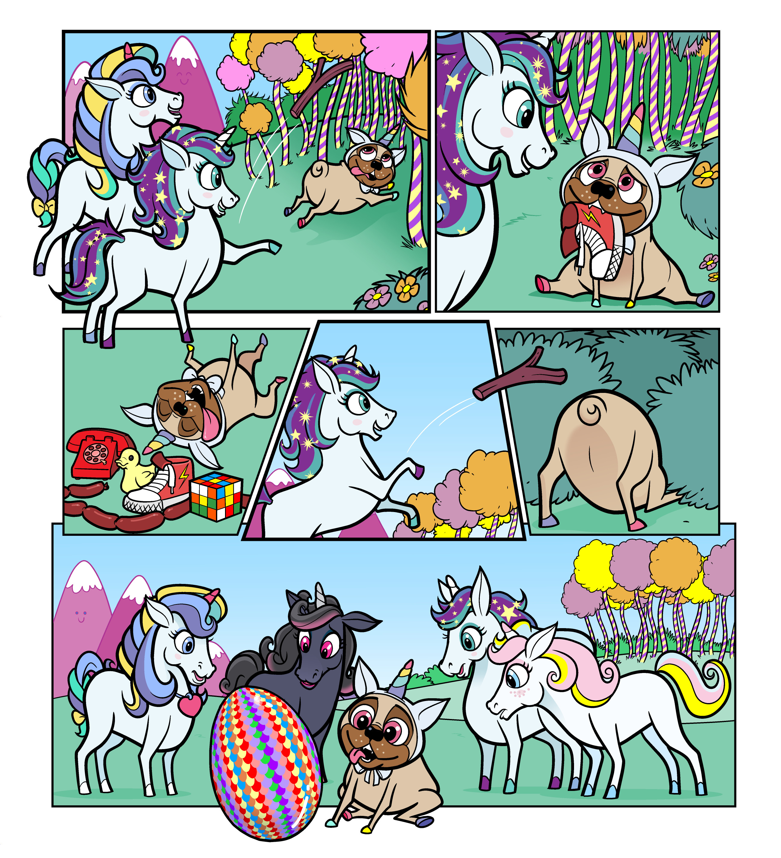Unicorn Universe - The Mysterious Egg Page 1