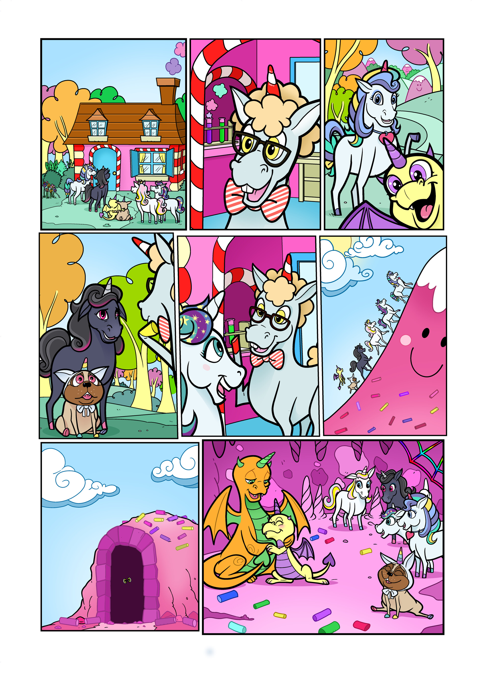 Unicorn Universe - The Mysterious Egg Page 4