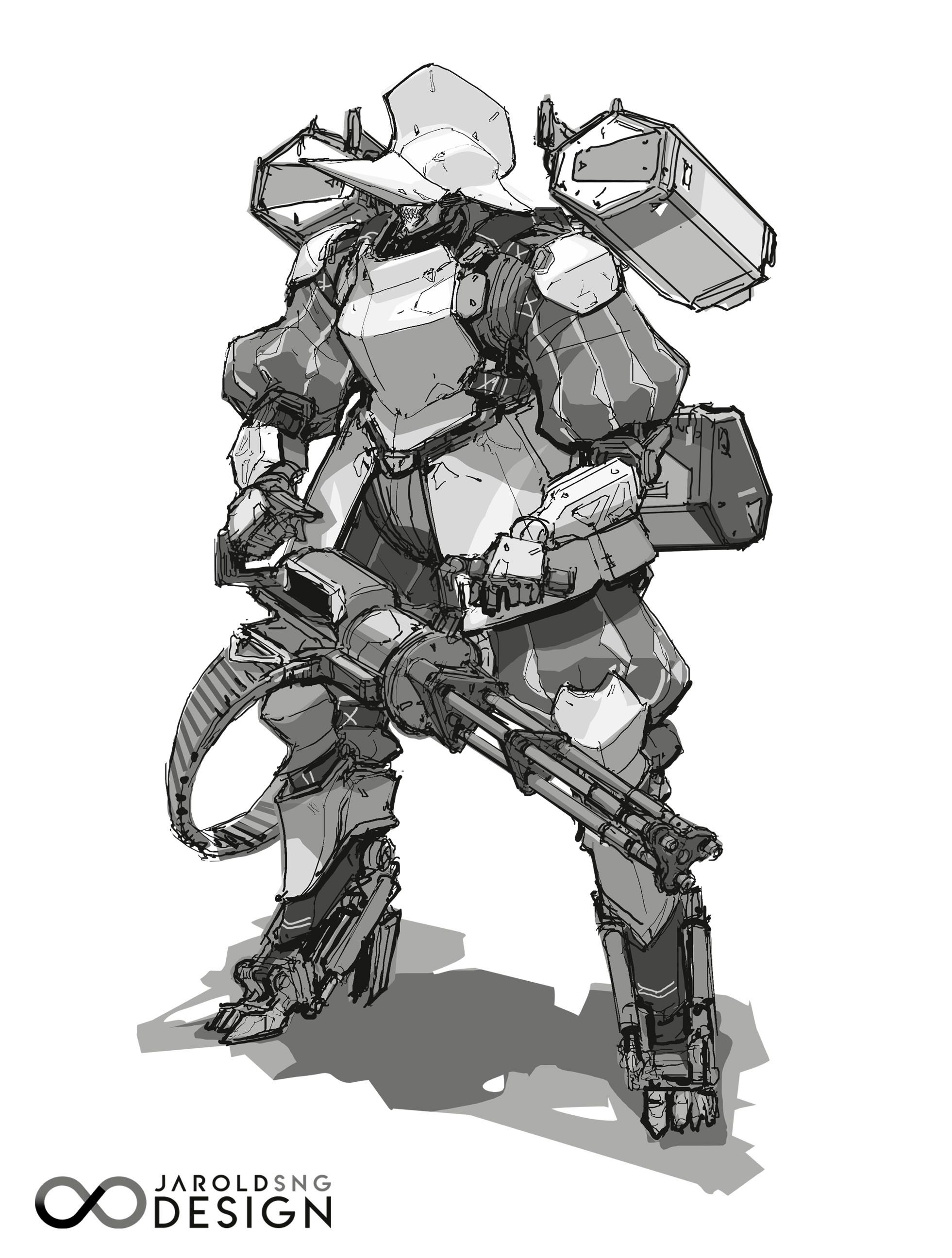 2D line art